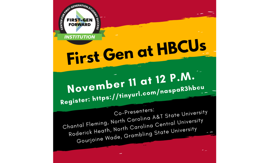 First-gen at HBCU's