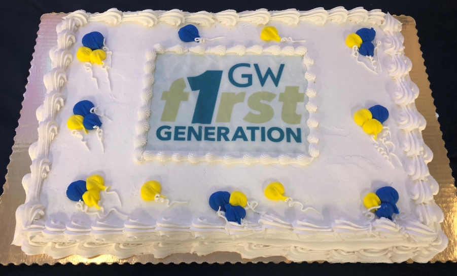 GW 2017 First-gen Celebration