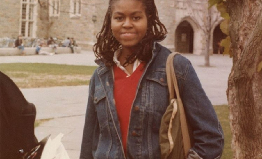 Michelle Obama Throwback Snap